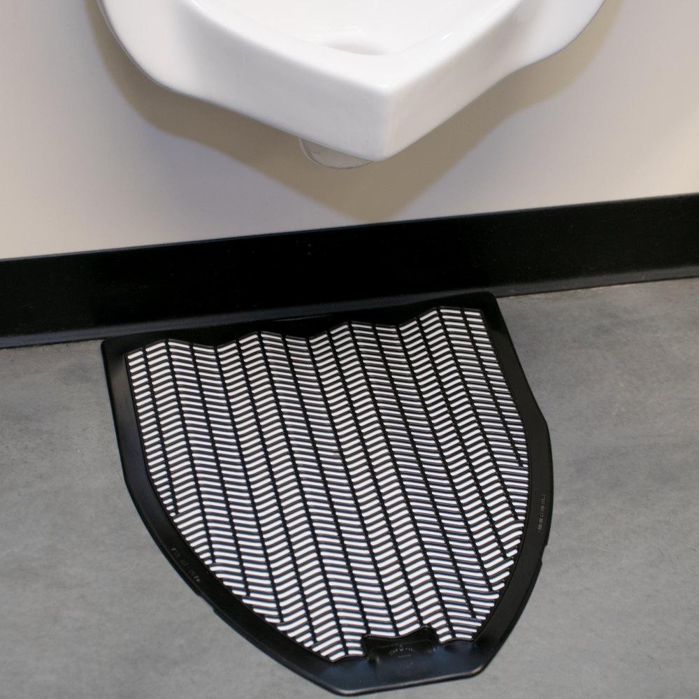 20 Quot X 18 Quot Black Disposable Urinal Mat Imp 1525 5 6 Case