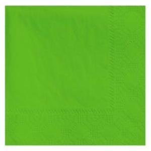 Hoffmaster 180361 Fresh Lime Beverage / Cocktail Napkin - 250 / Pack