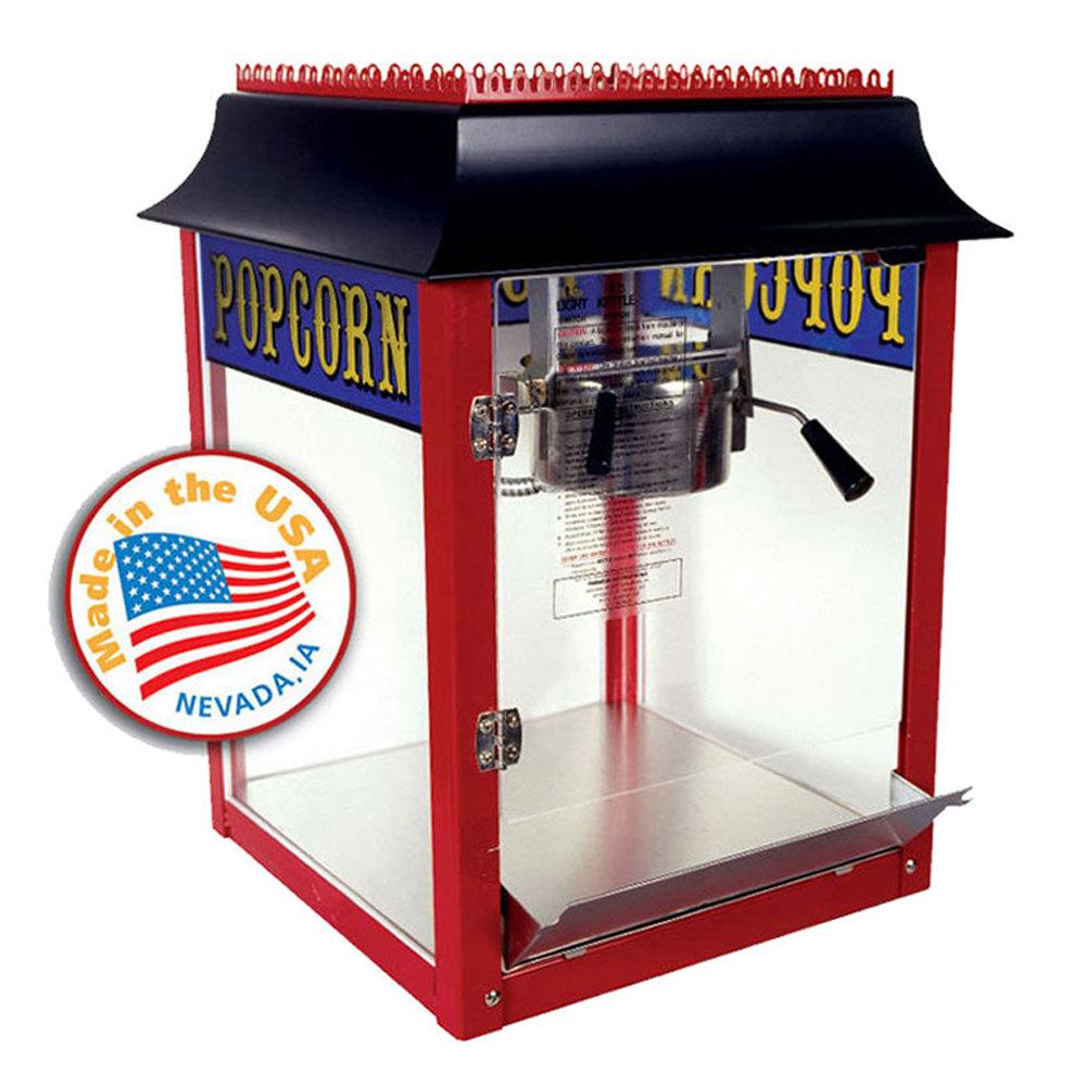 paragon 4 oz popcorn machine
