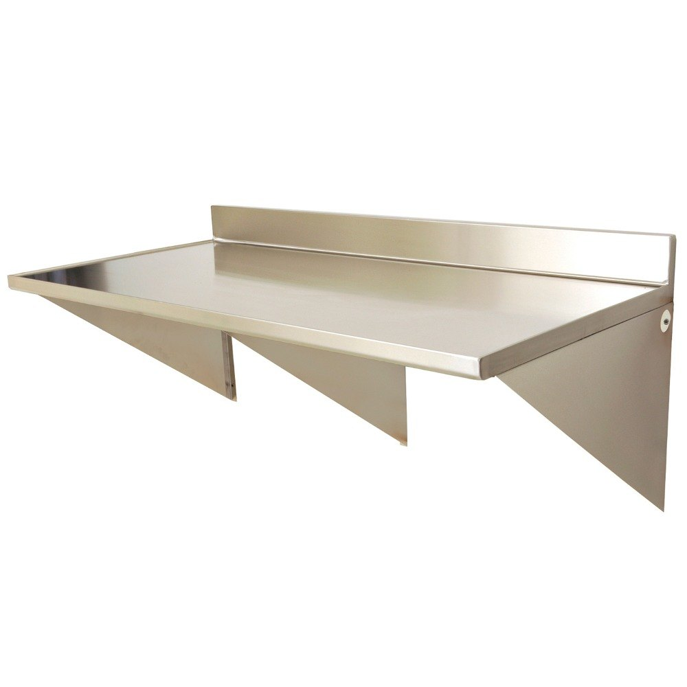 Eagle group wt3060se bs 30 x 60 stainless steel wall - Wall mounted table kitchen ...