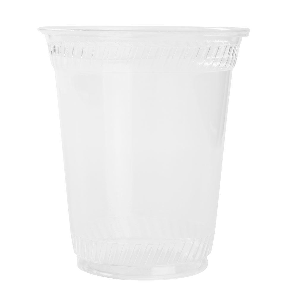 Fabri-Kal Greenware GC20 20 oz. Customizable Clear Plastic Compostable Cold Cup 1000 / Case