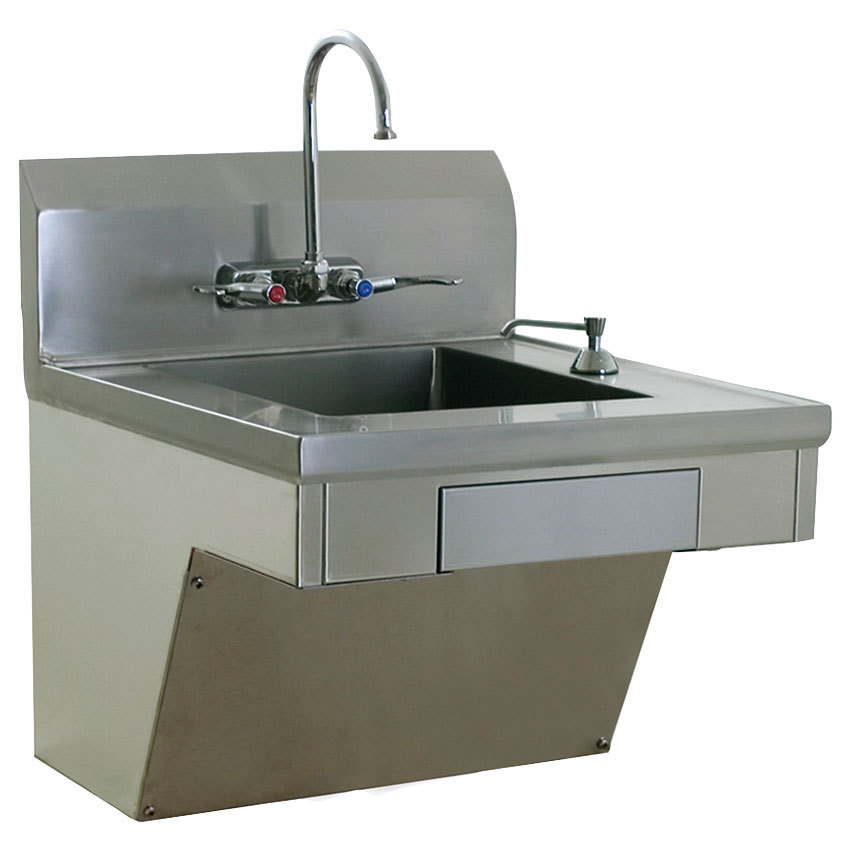 Ada Sink : Eagle Group HSAP-14-ADA-FW ADA Compliant Hand Sink with Gooseneck ...