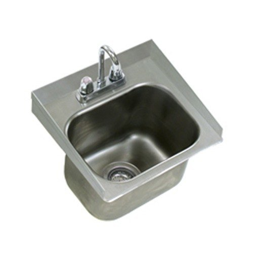 Eagle Group SRU14-10-5-1 One Compartment Stainless Steel Drop-In Sink ...