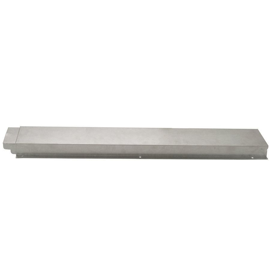 APW Wyott 32010527 Stainless Steel Solid Tray Slide for 4 Well Sealed Element Steam Table