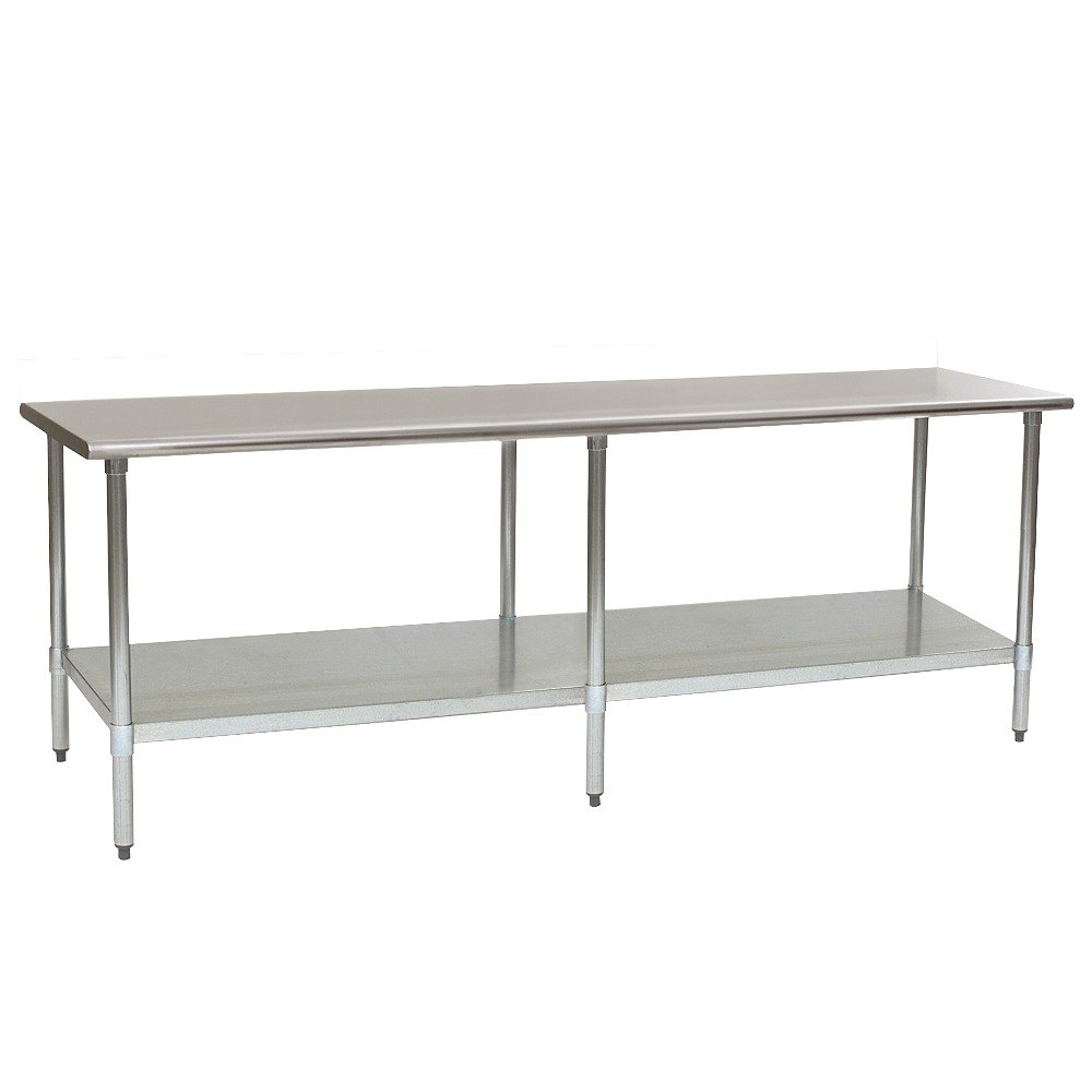 "Eagle Group T2496EM 24"" x 96"" Stainless Steel Work Table with Galvanized Undershelf at Sears.com"