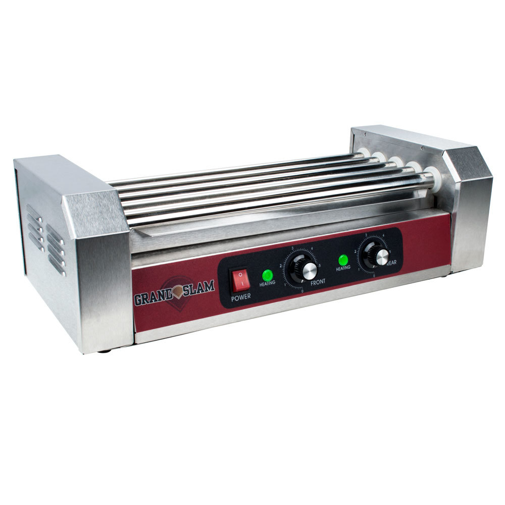 Grand Slam HDRG12 Hot Dog Roller Grill ? 5 Rollers, 12 Hot Dog Capacity (110V) at Sears.com