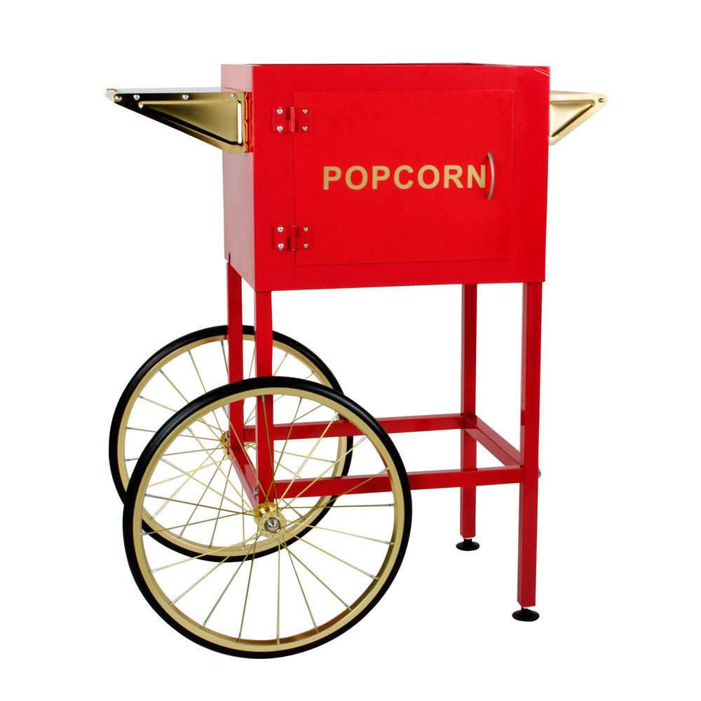"Carnival King PM8CART Cart for 8 oz. PM850 Popcorn Popper ? 18"" Wheels at Sears.com"