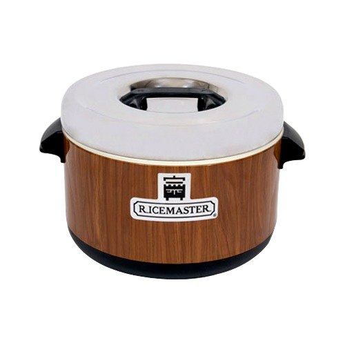 Town 56912W 12 Qt. Sushi Rice Container with Woodgrain Finish