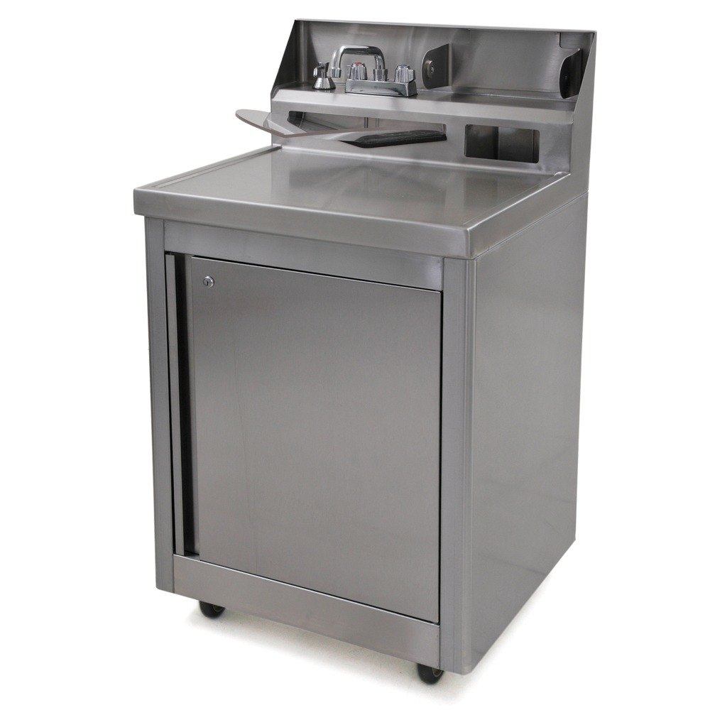Eagle Group Phs A H Hot And Cold Water Portable Sink With