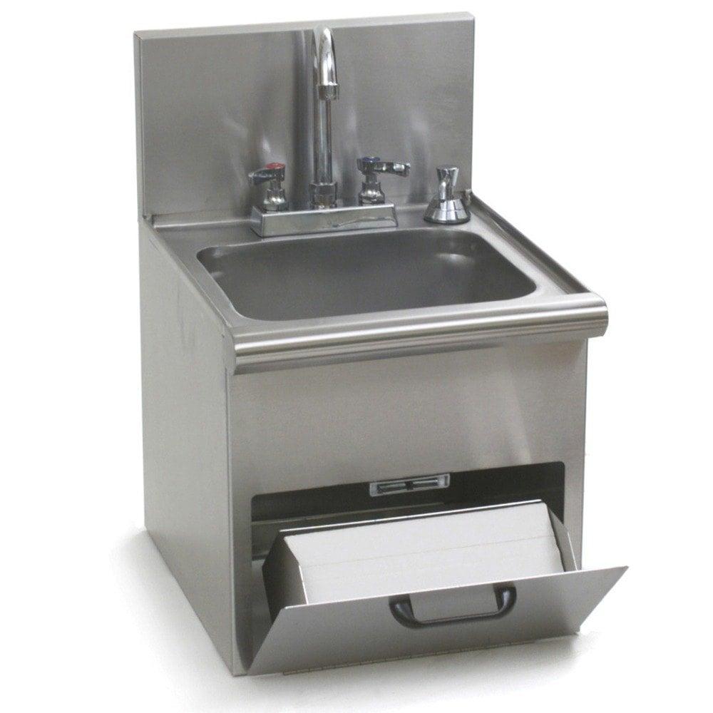 Eagle Group HWC-E Hand Wash Sink with Encore Gooseneck Faucet ...
