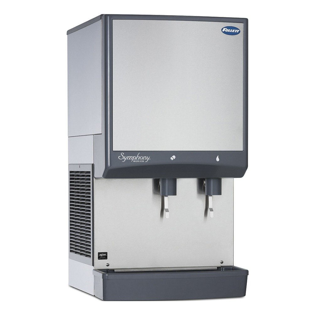 Countertop Ice Maker With Storage : ... Countertop Water Cooled Ice Maker and Water Dispenser - 50 lb. Storage