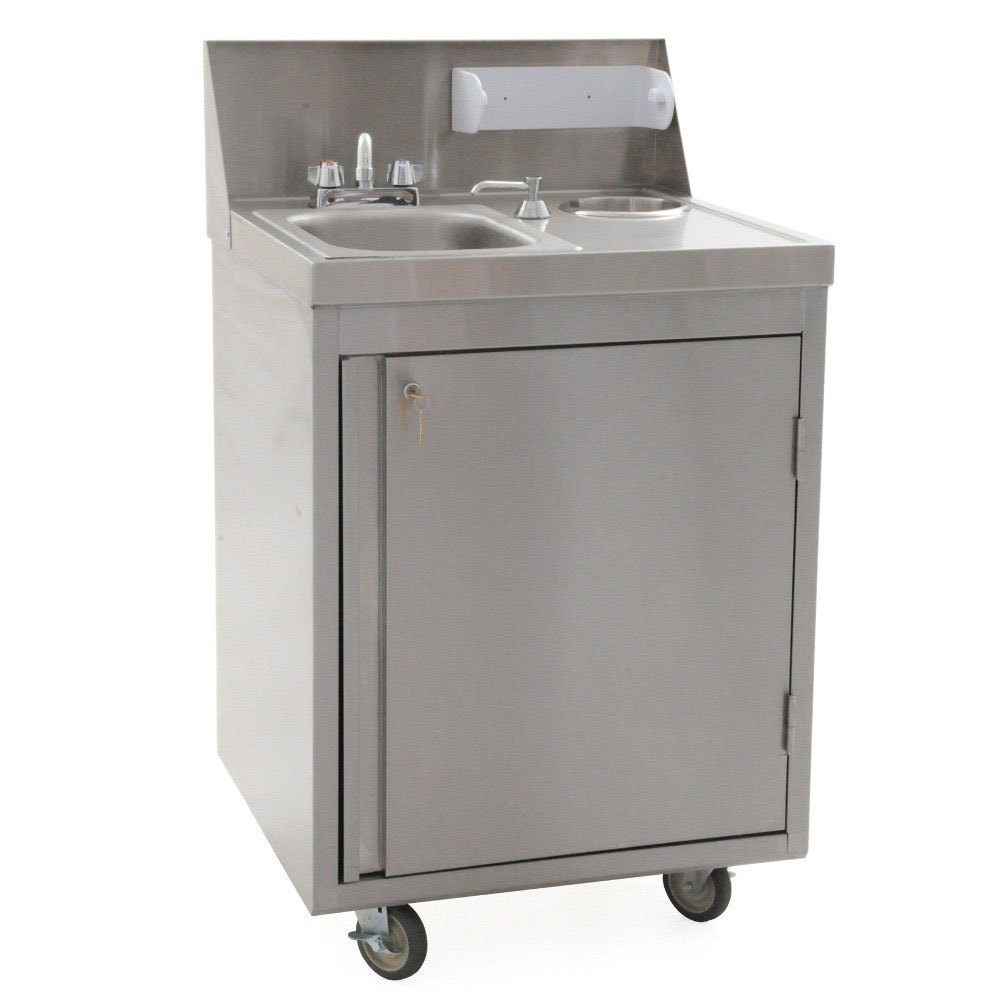 Eagle Group Phs S H Hot And Cold Water Portable Sink With