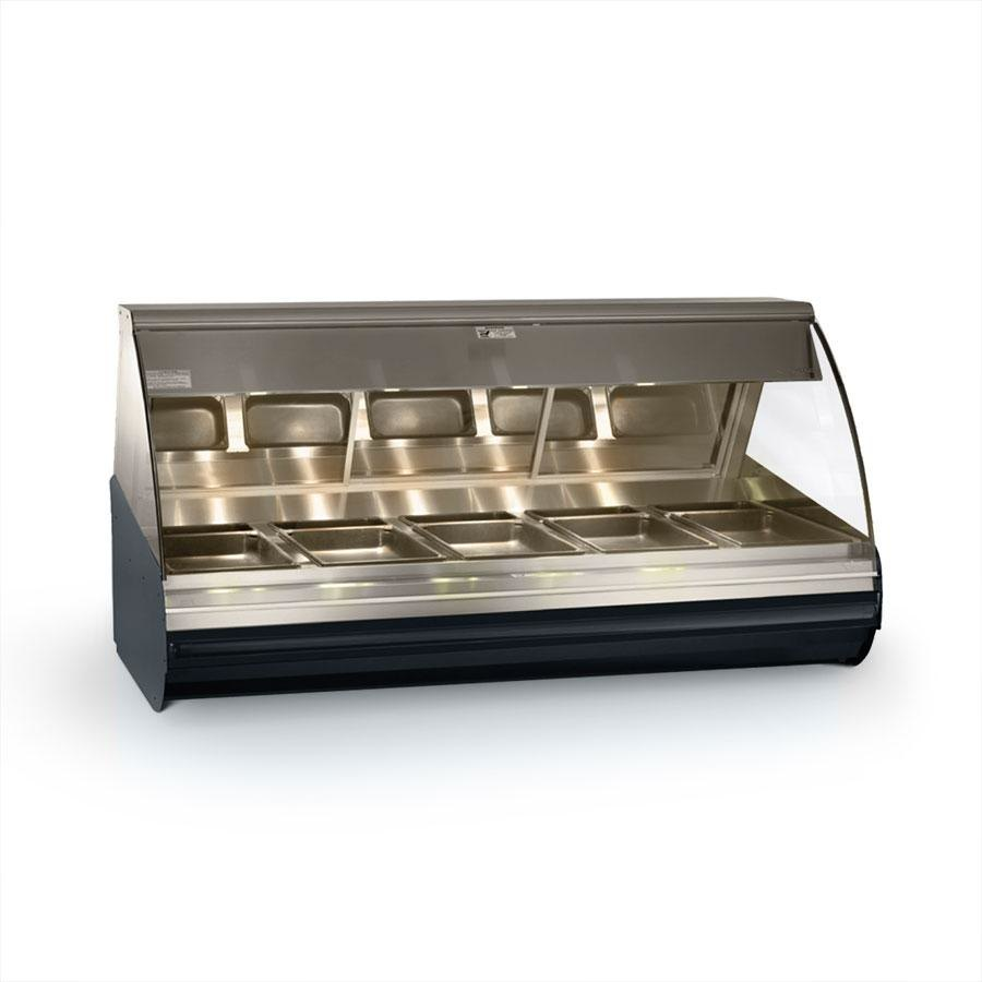 "Alto-Shaam HN2-72 S/S Stainless Steel Countertop Heated Display Case with Curved Glass - Full Service 72"" at Sears.com"