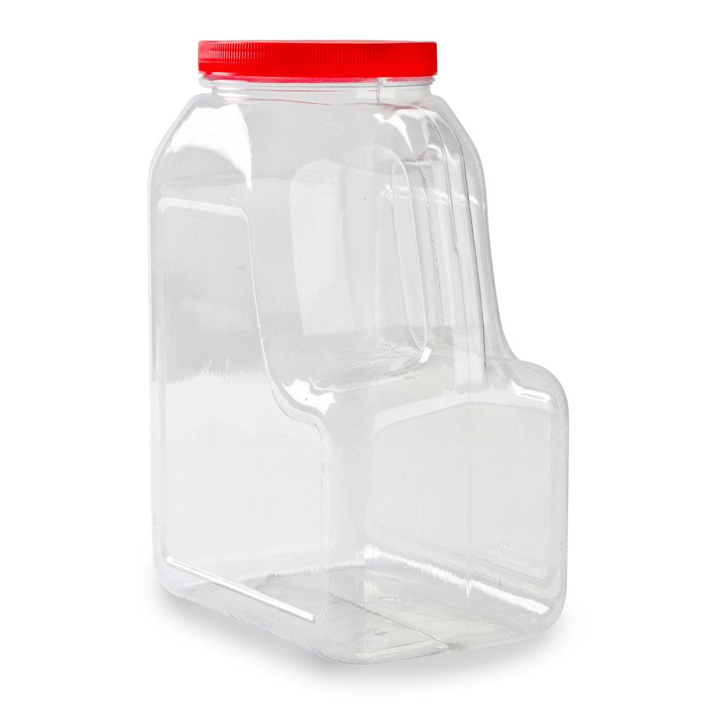 Plastic Storage Canisters Plastic Storage Jars With Lids