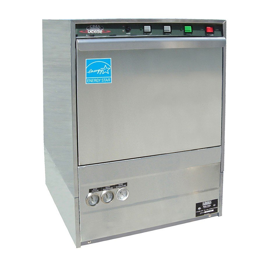 CMA UC65E High Temperature, Undercounter Dishwasher