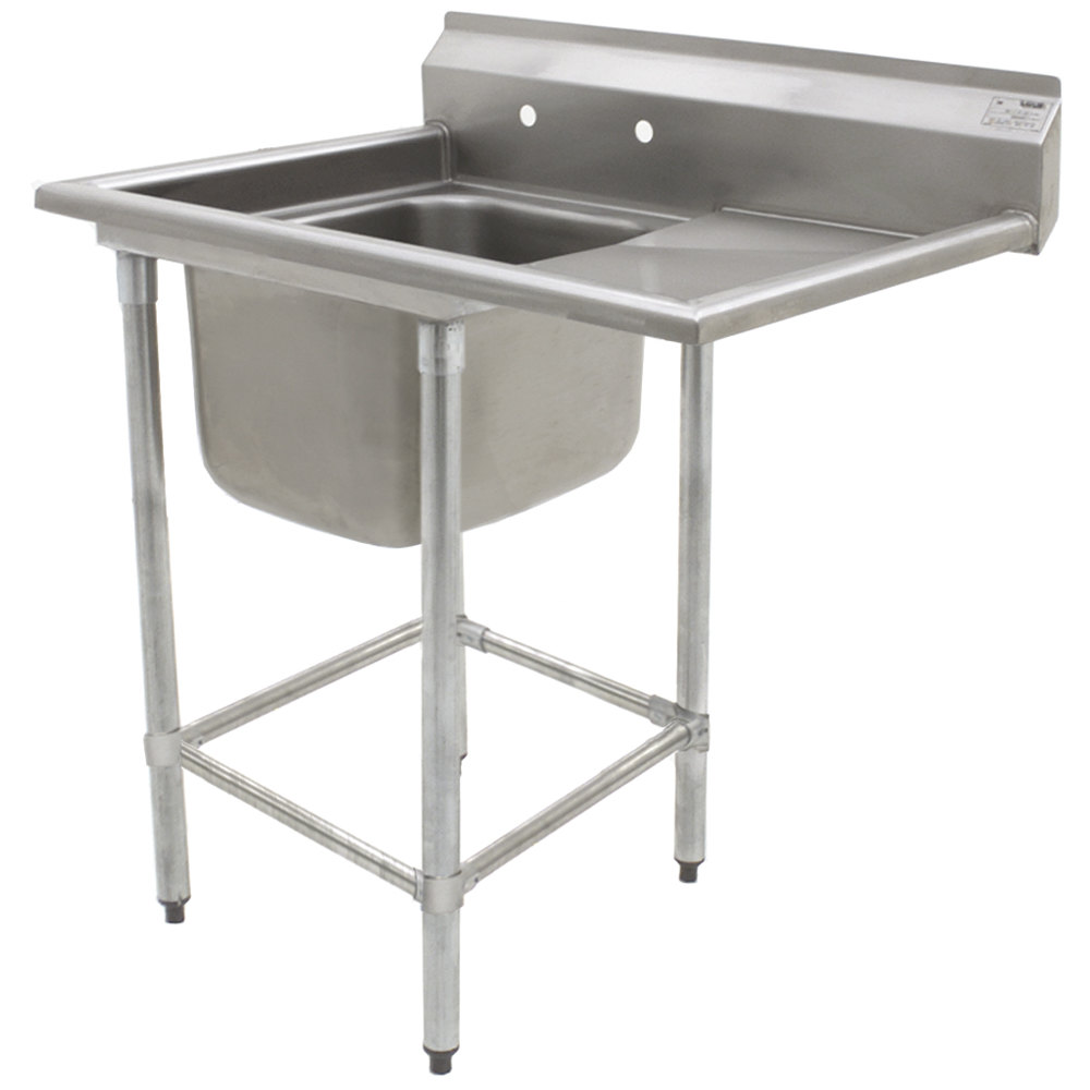 ... Stainless Steel Spec-Master Commercial Compartment Sink with 24