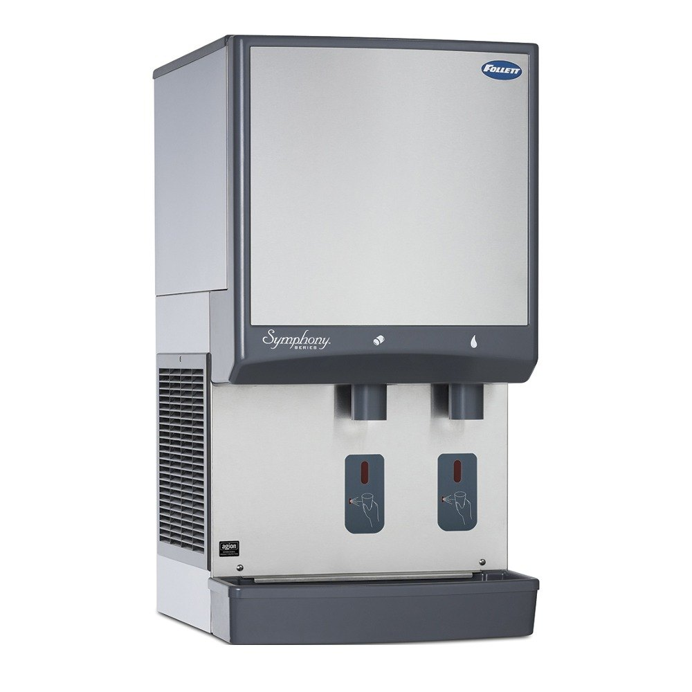 ... Countertop Air Cooled Ice Maker and Water Dispenser - 25 lb. Storage