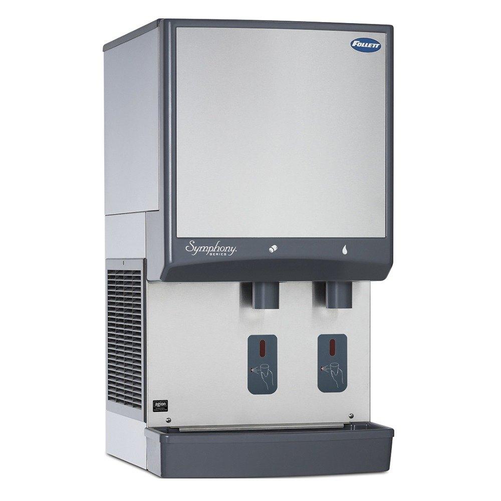 Countertop Ice Maker Water Dispenser : ... Countertop Water Cooled Ice Maker and Water Dispenser - 25 lb. Storage