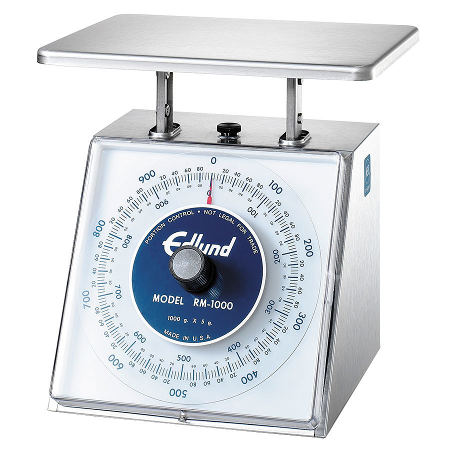 Edlund RM-10000 Four Star Series 10000 g. Metric Mechanical Portion Scale - 8 1/2 inch x 9 inch