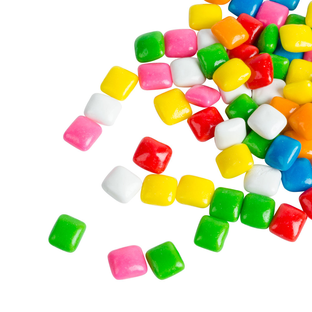 Dutch Treat Bubble Gum Bits Candy Ice Cream Topping - 10 lb.