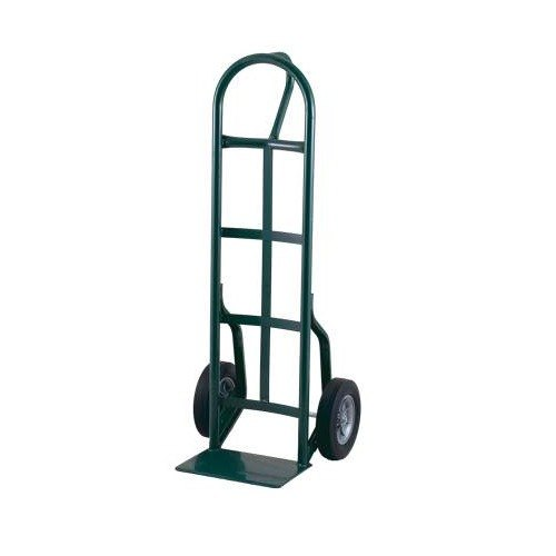 "Harper 56T85 Loop Handle 800 lb. Steel Hand Truck with 8"" x 2"" Solid Rubber Wheels"