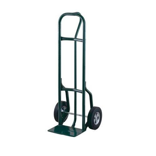 "Harper 27T61 Loop Handle 800 lb. Steel Hand Truck with 8"" x 1 5/8"" Mold-On Rubber Wheels and Reinforced Base"