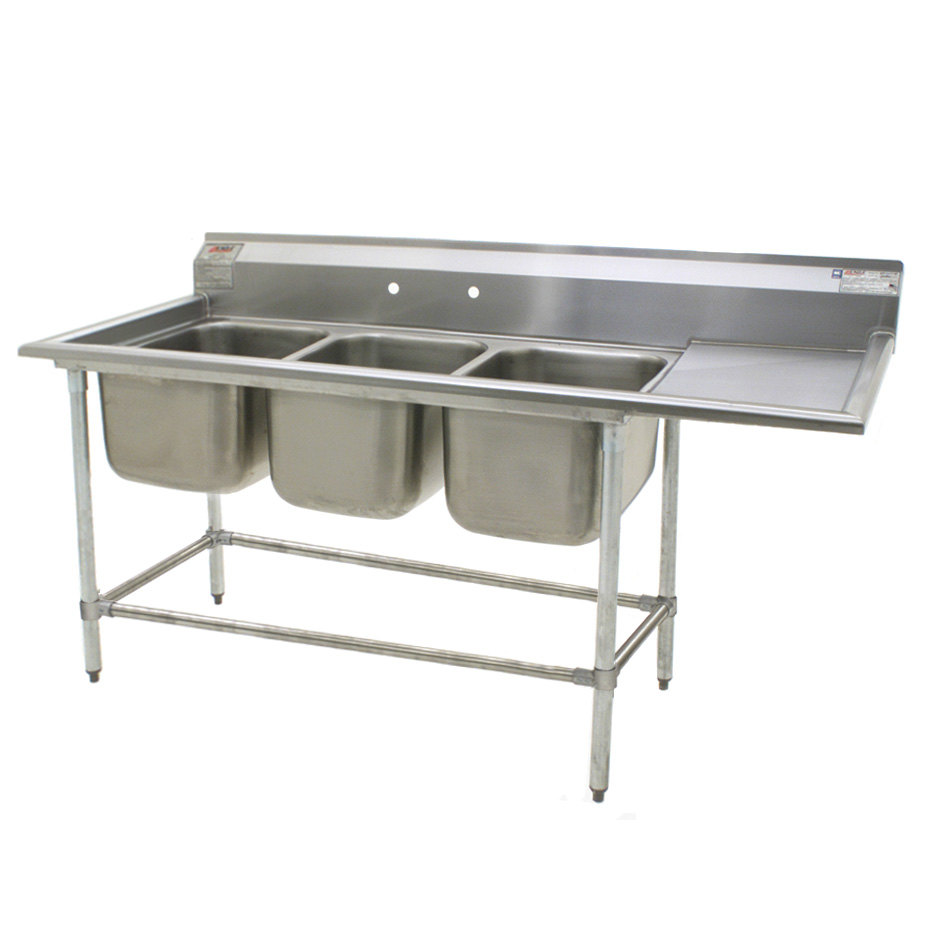 Stainless Steel Sinks With Drainboards : Stainless Steel Kitchen Sink With Drainboard from Sears.com