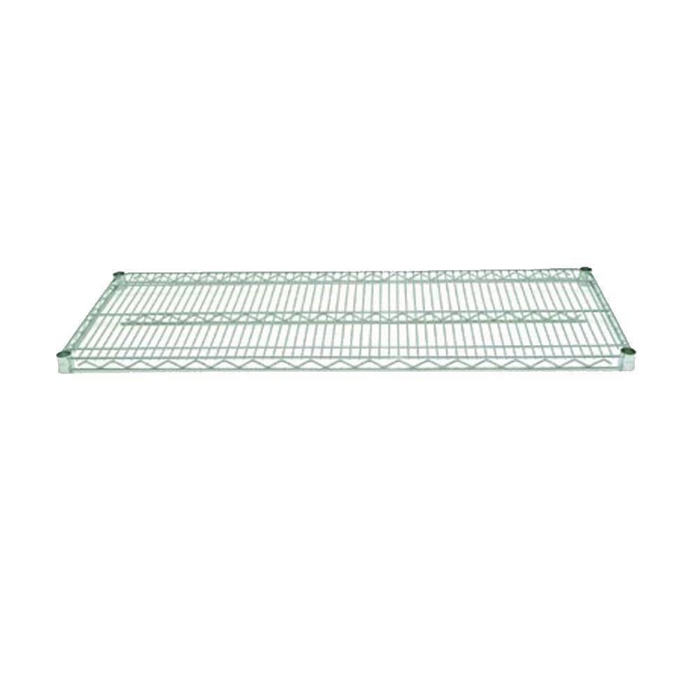 Advance Tabco EG-1836 18 inch x 36 inch NSF Green Epoxy Coated Wire Shelf