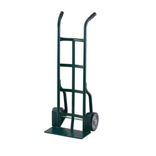 "Harper 25T73 Dual Handle 900 lb. Steel Hand Truck with Fenders and 8"" x 2"" Mold-On Rubber Wheels"