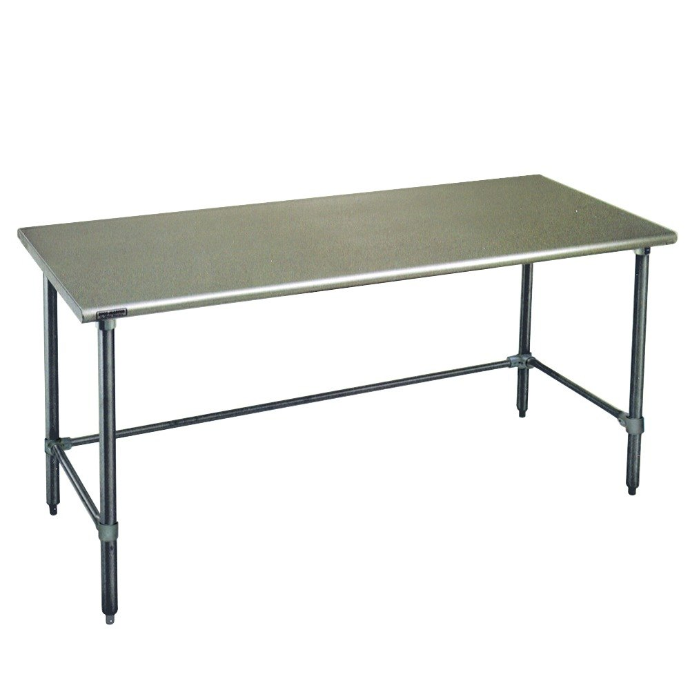 Eagle Group T3072gteb 30 X 72 Open Base Stainless Steel Commercial Work Table