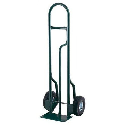 "Harper CTL77 Loop Handle 600 lb. Tall Steel Hand Truck with 8"" x 1 5/8"" Mold-On Rubber Wheels"