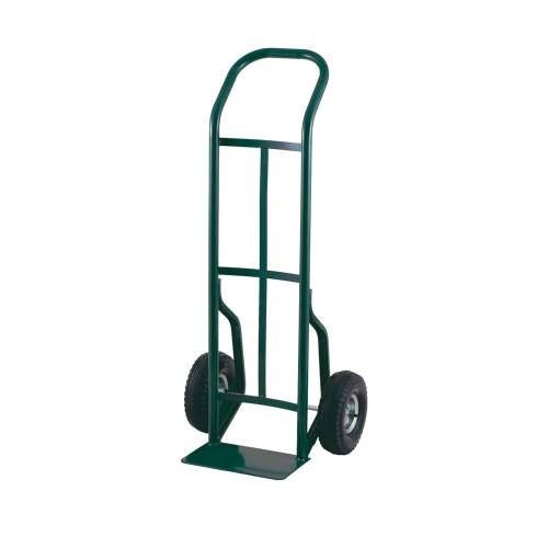 "Harper 52T85 Continuous Handle 600 lb. Steel Hand Truck with 8"" x 2"" Solid Rubber Wheels"