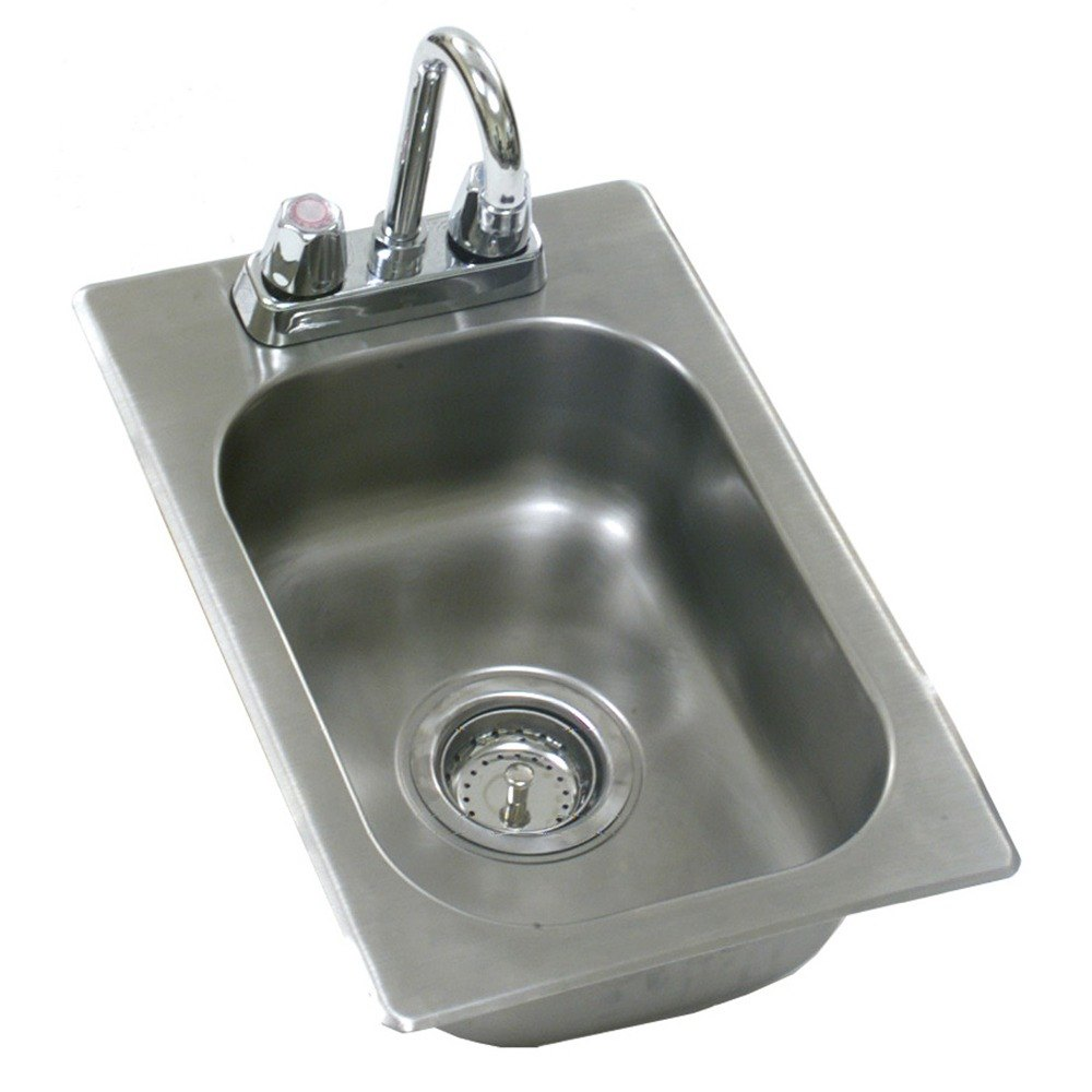 Eagle Group SR12-14-9.5-1 One Compartment Stainless Steel Drop-In Sink ...