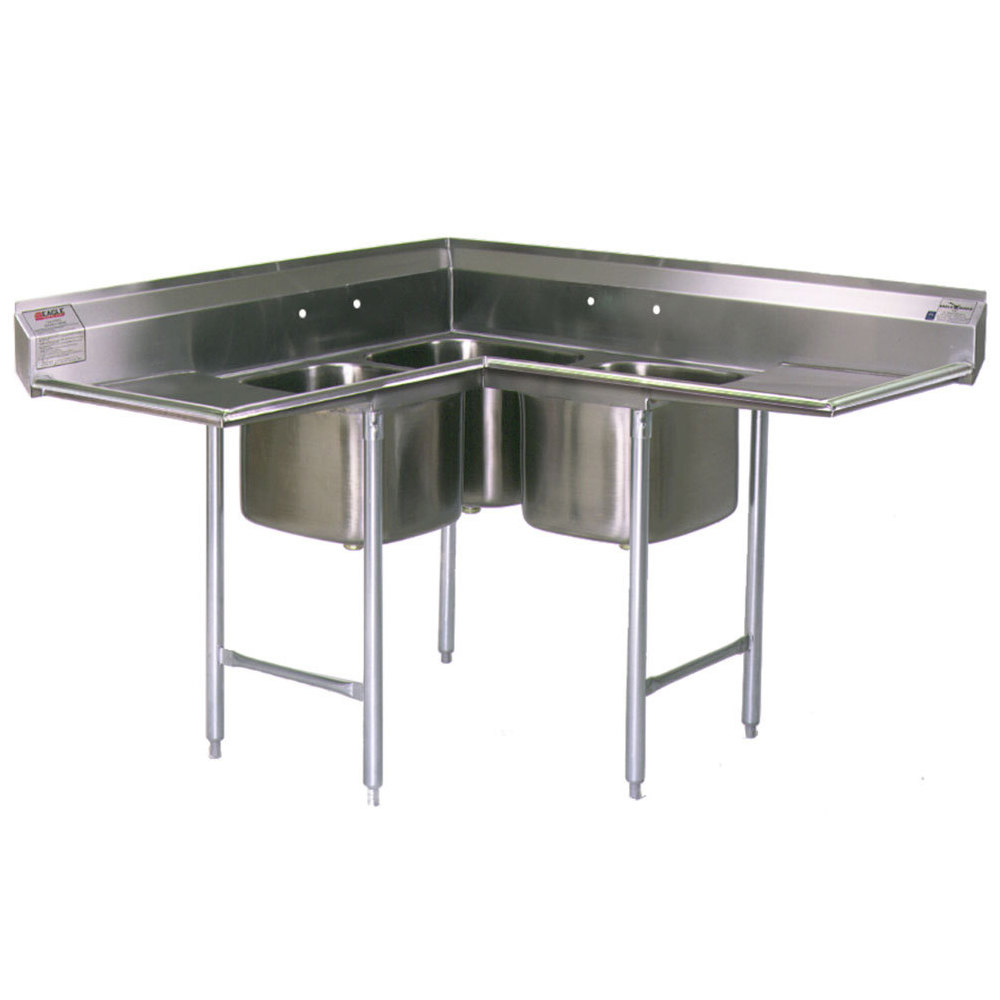 Eagle Group C314 16 3 18 Three 16 Quot X 19 Quot Bowl Stainless