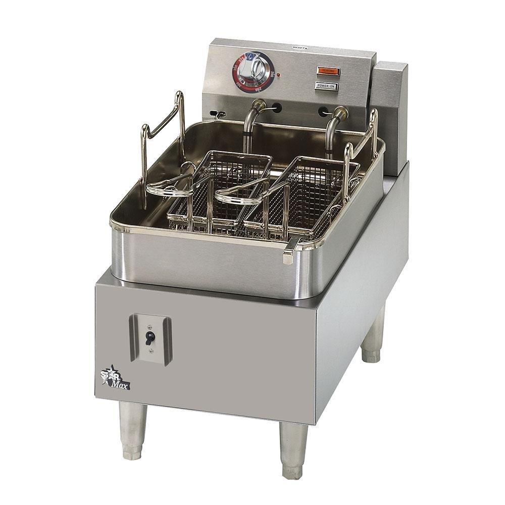 Star Max 515F 15 lb. Commercial Countertop Deep Fryer 5750W