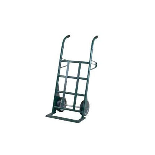 "Harper AM253W87 Dual Handle 1500 lb. Hand Truck with 10"" x 2 1/2"" Mold-On Rubber Wheels"