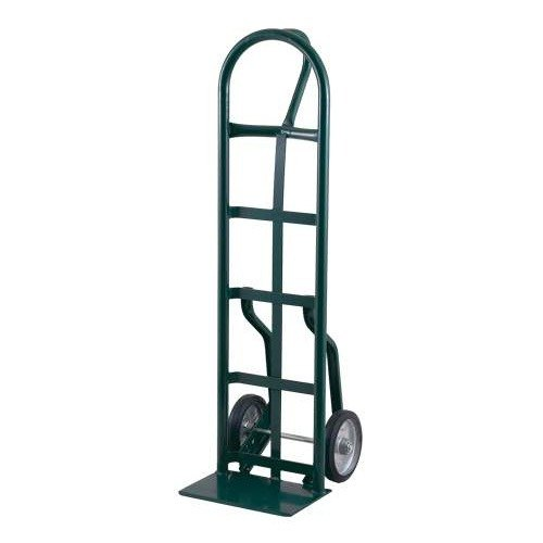 "Harper 56NT14 Loop Handle 800 lb. Narrow Frame Steel Hand Truck with 8"" x 2 1/4"" Solid Rubber Wheels"