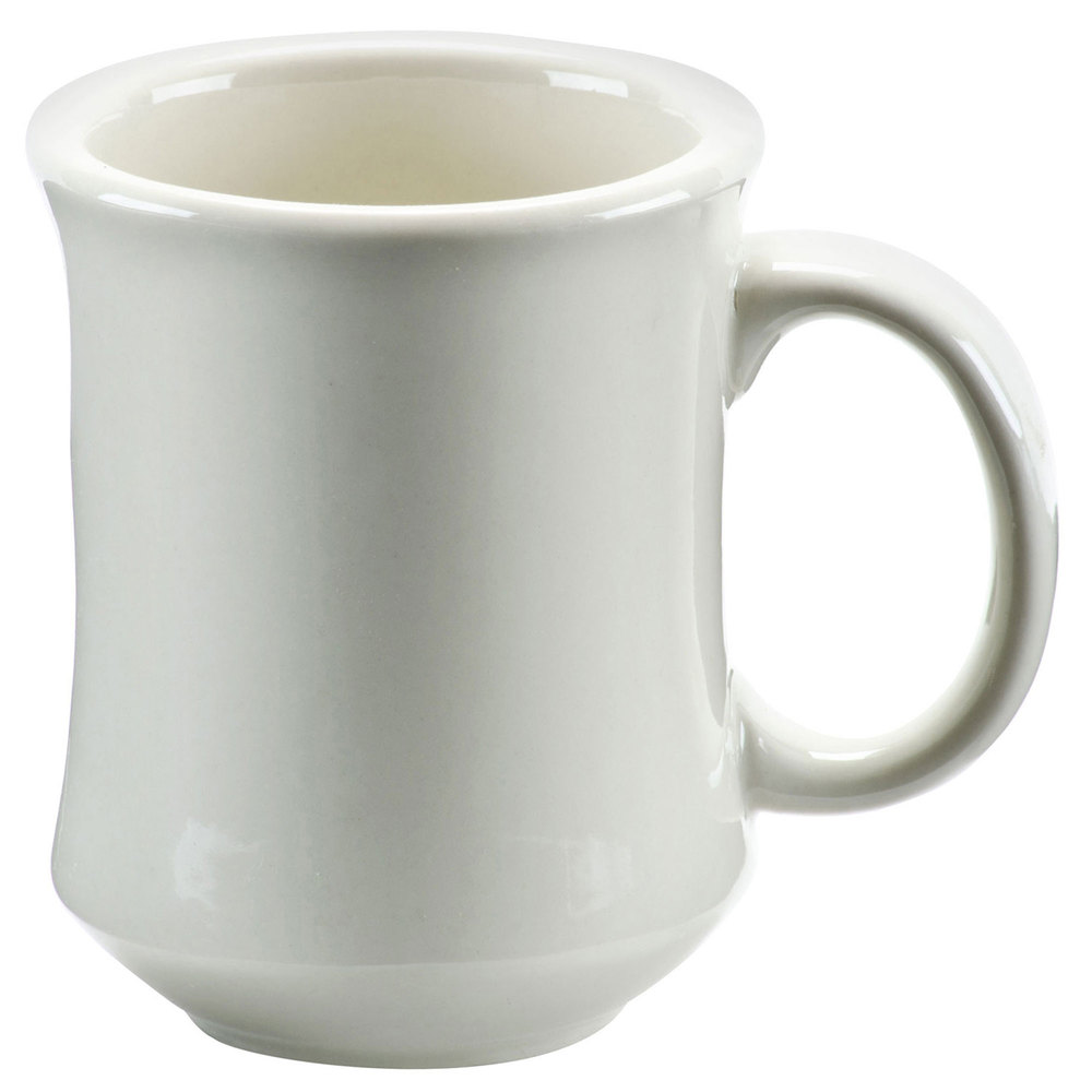Princess 8 Oz White Coffee Mug 36 Case