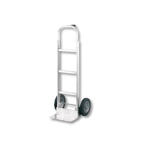 "Harper Trucks Harper MPA86 M-Series Single Pin Handle 300 lb. Aluminum Hand Truck with 10"" x 2"" Solid Rubber Wheels at Sears.com"