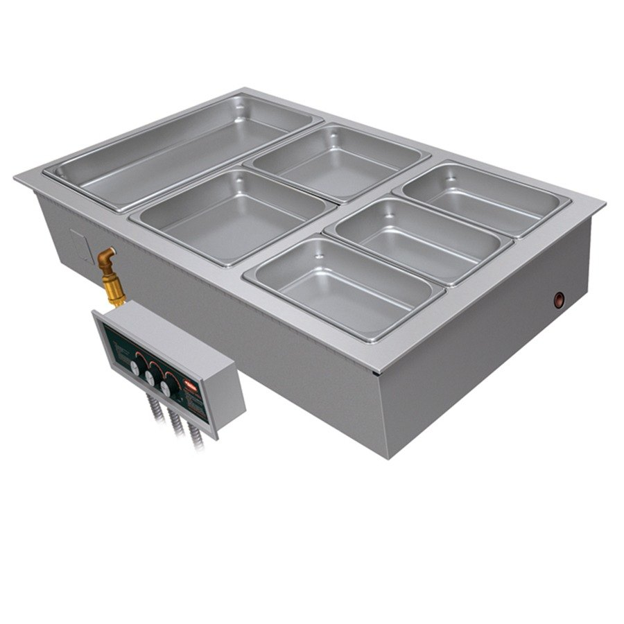 Hatco HWBI-3 Three Compartment Modular / Ganged Drop In Hot Food Well