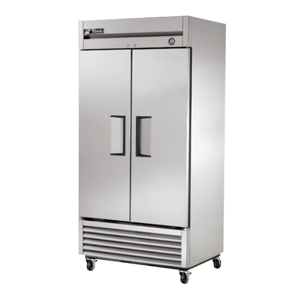 True T-35 2 Door Bottom Mounted Reach-In Refrigerator