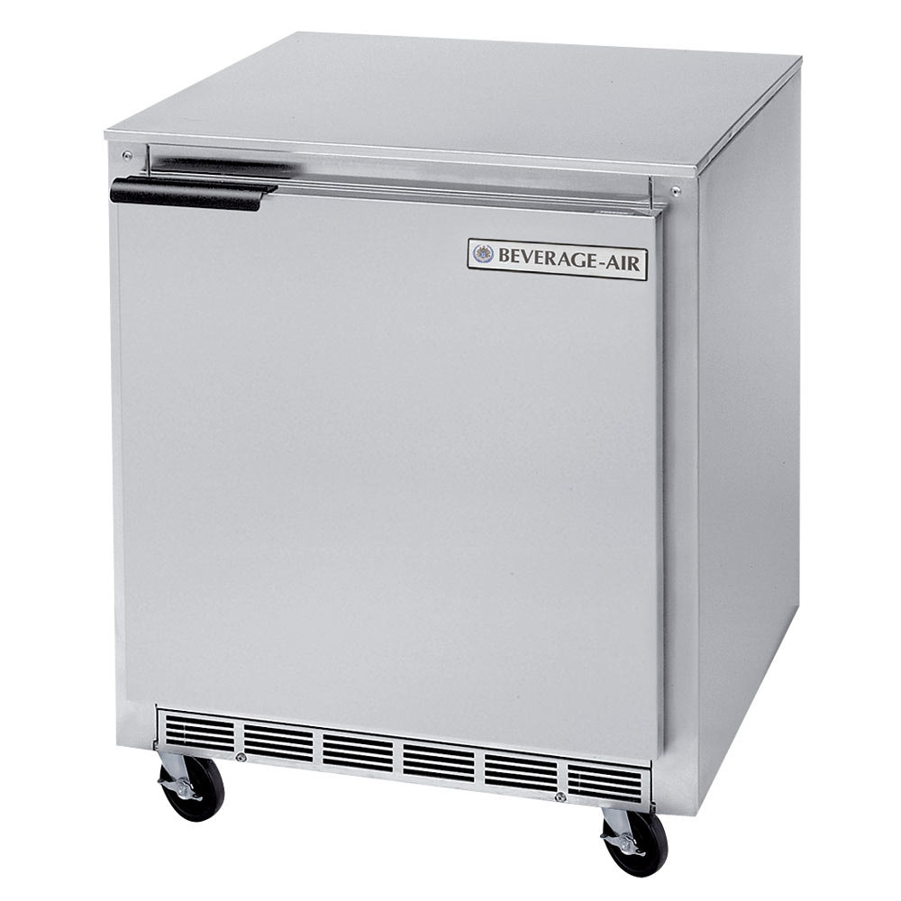 beverage air bev air ucf27a 27 undercounter freezer 7 3 cu ft beverage air ucf27a 27\