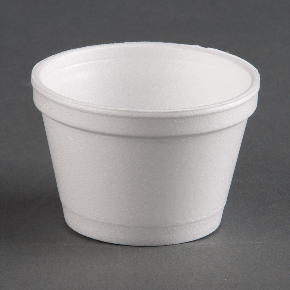 Dart 4J6 4 oz. Customizable White Foam Food Bowl 1000 / Case at Sears.com