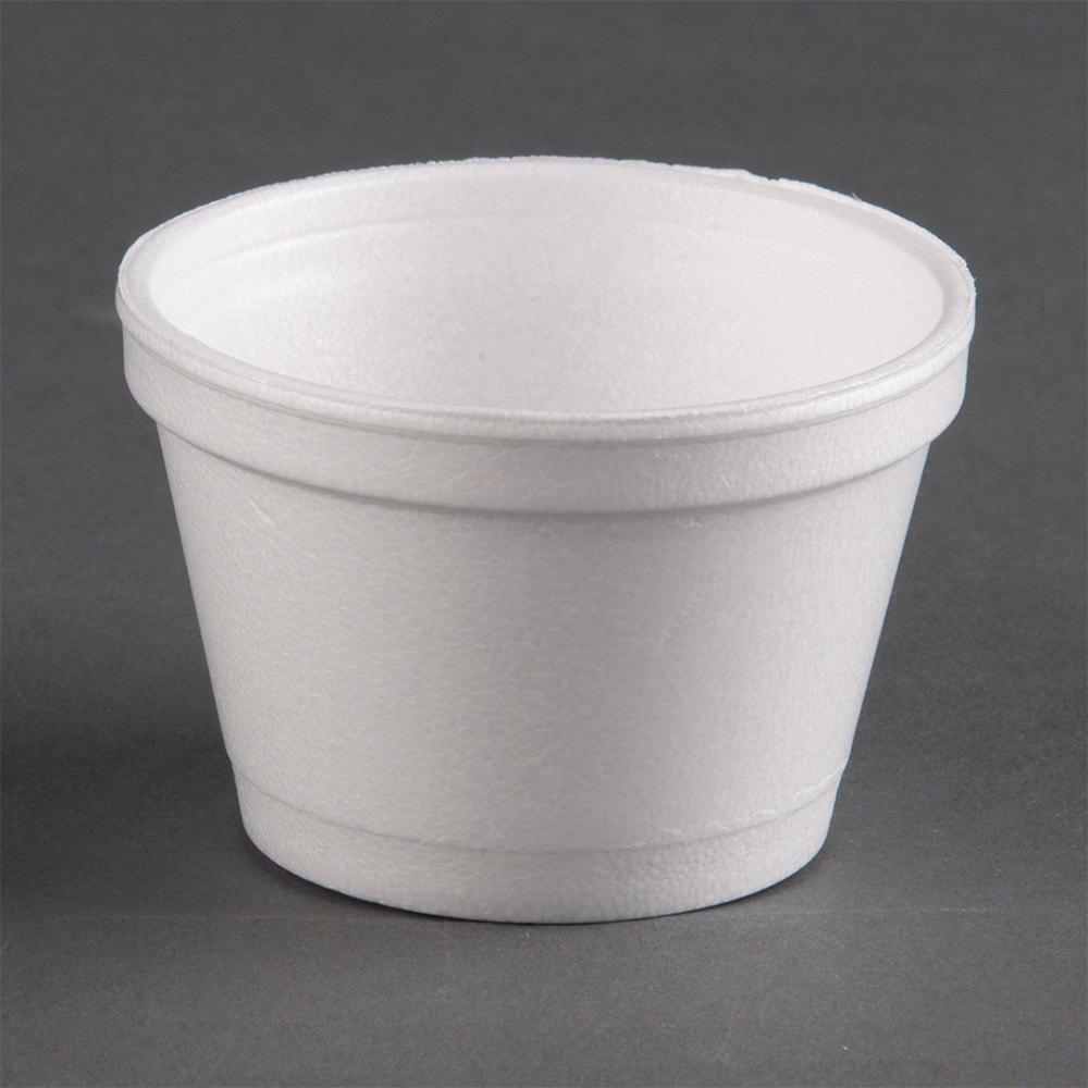Dart 4J6 4 oz. Customizable White Foam Food Bowl 1000 / Case at Sears.com