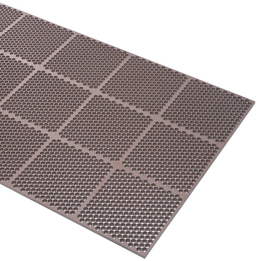 Rubber floor mats jhb - Cactus Mat 2535 B34 Honeycomb 3 X 4 Brown Anti Fatigue Rubber Mat 9 16 Thick