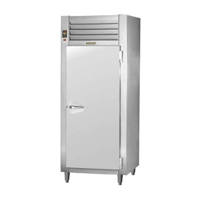 Traulsen AHT132EUT-FHS 26 Cu. Ft. One Section Solid Door Extra Wide Reach In Refrigerator - Specification Line