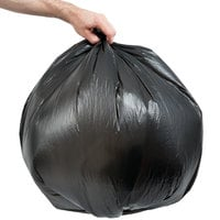 Inteplast Group S303716K 20-30 Gallon 16 Micron 30 inch x 37 inch High Density Can Liner / Trash Bag - 500/Case
