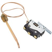 All Points 46-1081 Booster Heater Thermostat; Type 358E; Temperature 110 - 192 Degrees Fahrenheit; 24 inch Capillary