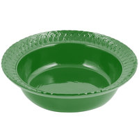 Bon Chef 2307 2.5 Qt. Calypso Green Sandstone Finish Cast Aluminum Trellis Bowl