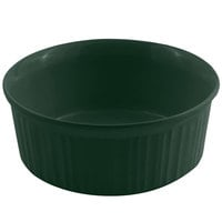 Bon Chef 5053 1.5 Qt. Hunter Green Sandstone Finish Cast Aluminum Casserole Dish